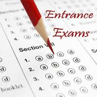 Entrance Exams for new students