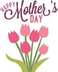 Mother's Day celebration for Sunday 12 May
